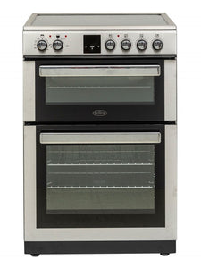 Belling 60cm Electric Cooker Silver | BFSE60DOPIX - Nioclas O Conchubhair