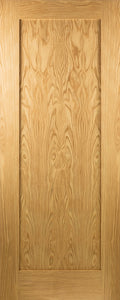 Seadec Oak Hampton 1 Panel Shaker Door - Nioclas O Conchubhair
