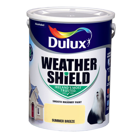 Dulux Weathershield Summer Breeze 5L - Nioclas O Conchubhair