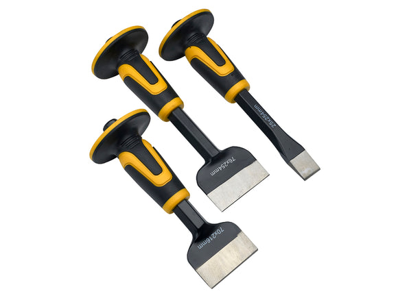 Roughneck 3 Piece Chisel & Bolster Set - Nioclas O Conchubhair