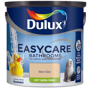 Dulux Easycare Bathrooms Warm Glow 2.5L - Nioclas O Conchubhair