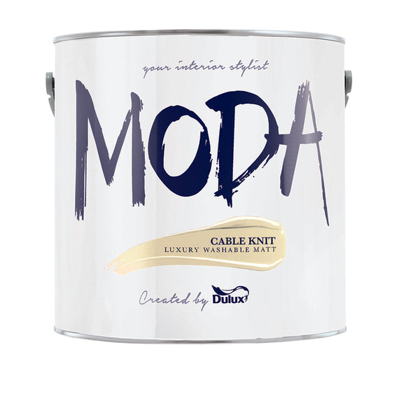 Dulux Moda Cable Knit  2.5L - Nioclas O Conchubhair
