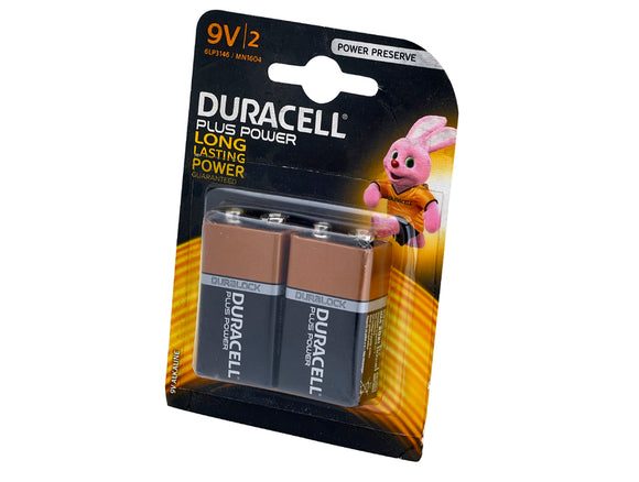 Duracell 9V Battery Twin Pack - Nioclas O Conchubhair