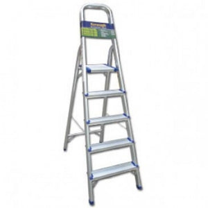 5 Tread Aluminium  Step Ladder - Nioclas O Conchubhair