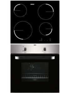 Zanussi Built-in Electric Single Oven and Ceramic Hob Pack | ZPVF4130X - Nioclas O Conchubhair