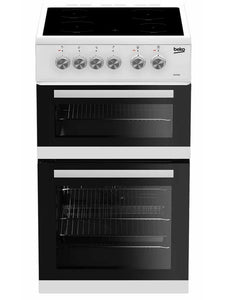 Beko 50cm Freestanding Electric Cooker White | KDVC563AW - Nioclas O Conchubhair