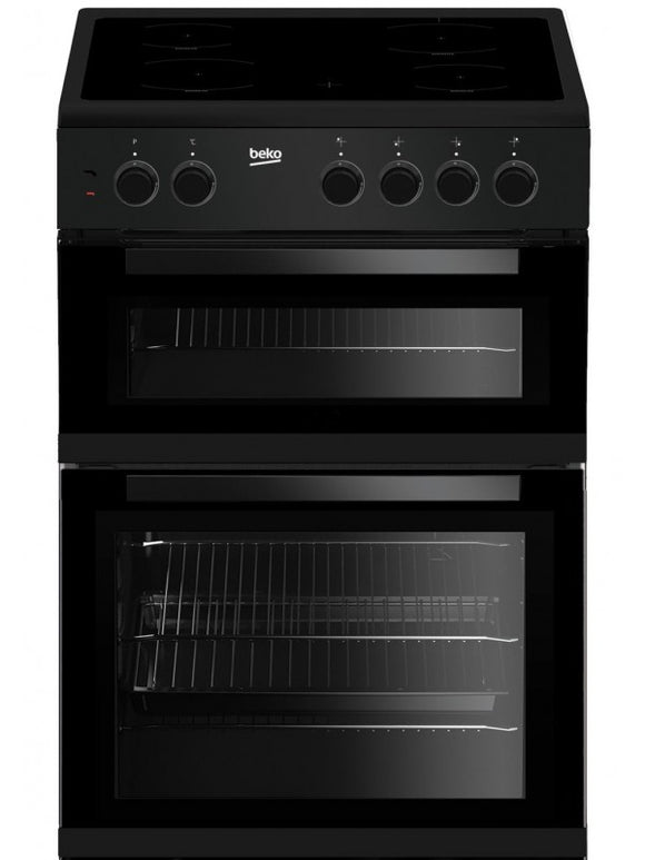 Beko 60cm Electric Cooker Black | KTC611K - Nioclas O Conchubhair
