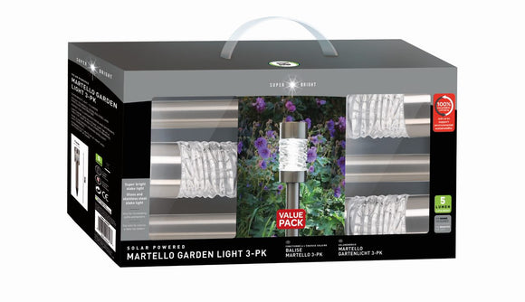 Martello 5L Stake Light 3 Pack | 1001007 - Nioclas O Conchubhair