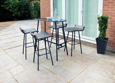 Venice 4 Seater Bar Set - Nioclas O Conchubhair