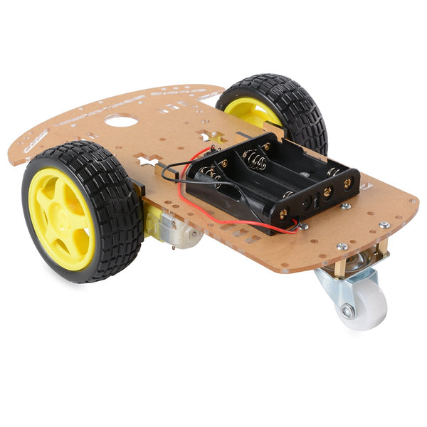 Chassis para Robot 2WD (acrílico)