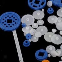 Kit 90x Plastic Gears/Pulleys/Belts