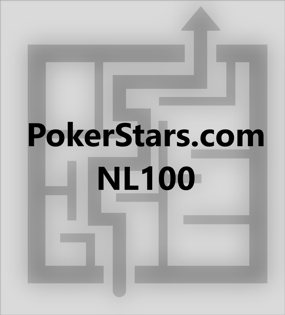 6max NLHE 100bb cash game - 2.5bb RFI - rake NL100 Pokerstars.com