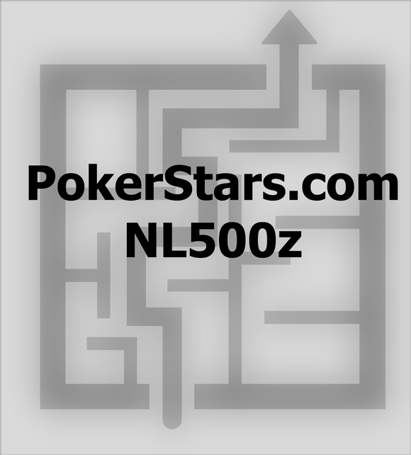 6max NLHE 100bb cash game - 2.5bb RFI - rake NL500z Pokerstars.com