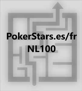 6max NLHE 100bb cash game - 2.1bb RFI - rake NL100 Pokerstars.es/fr