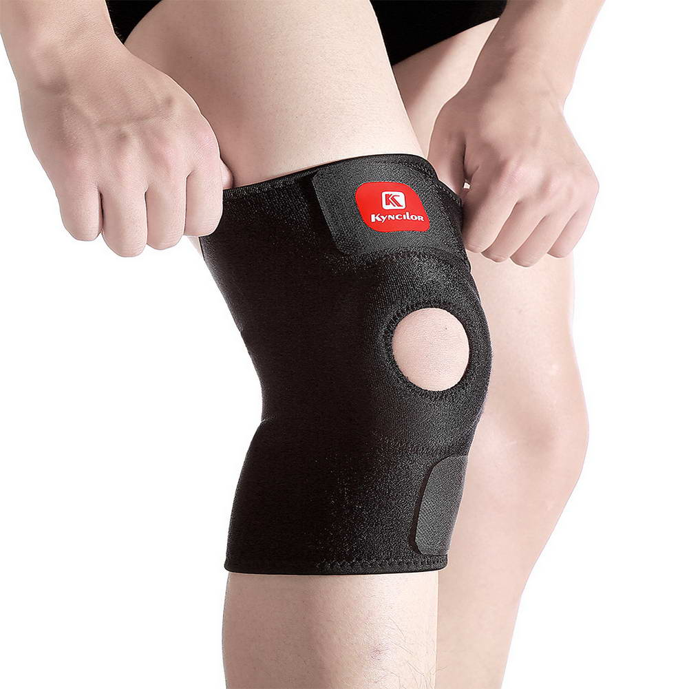 Adjustable Knee Pad Support Brace Knee Wrap Gym Workout Sports Protector Guard YS-BUY