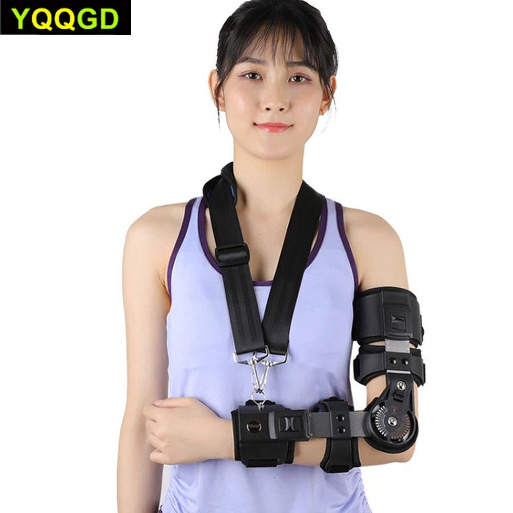 Adjustable Elbow Joint Brace | Fractured Elbow, Broken Supracondylar & Proximal Ulna Immobilizer Brace