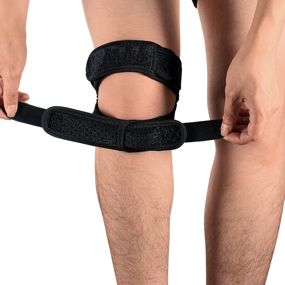 Knee Patella Support | Strap Band | Exercise Brace | Runner's Kneecap Pain