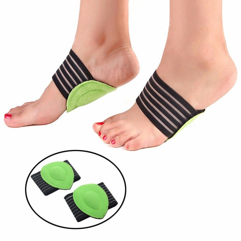 Plantar Fasciitis Arch Pads - Support For Flat & Painful Feet