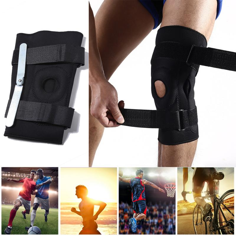 O-Shaped Stabilizing Knee Brace with Straps