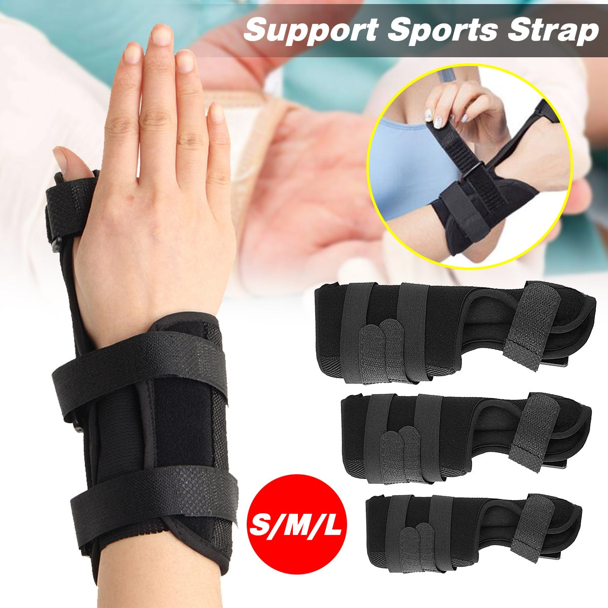 Wrist & Thumb Splint | Tendonitis Support