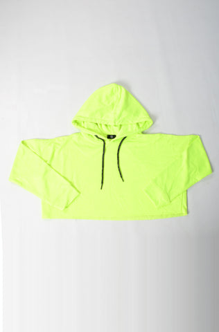 (M/G) INTERNATIONAL BRAND WOMEN CROP HOODIE (4478269194372)