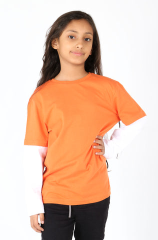 (P/B) INTERNATIONAL BRAND GIRL'S TEE SHIRT (4351363776644)