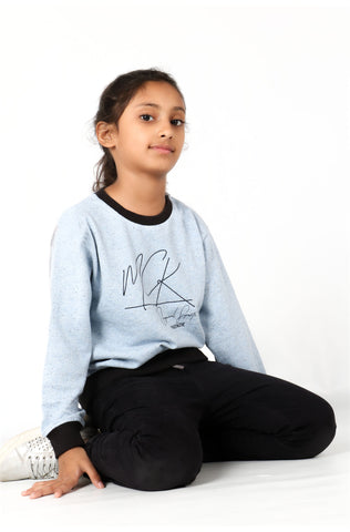 (M/K) INTERNATIONAL BRAND Girl's Sweat Shirt (4252565045380)