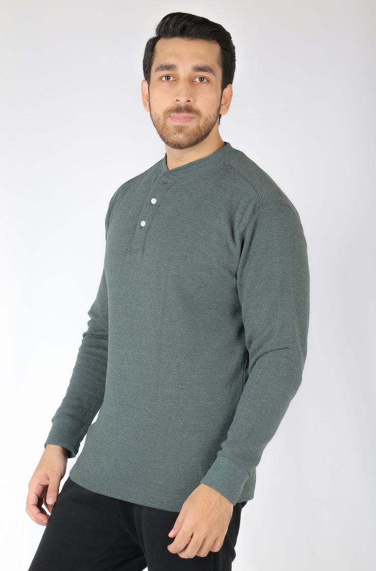 WLVRINEE  INTERNATIONAL BRAND  MEN'S HENLEY SHIRT (040-00014) (4366469529732)