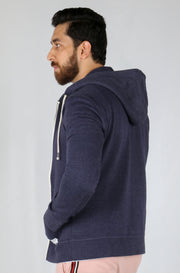 Ubro INTERNATIONAL BRAND Men's Full Zipper Hoodie (4161561624708)