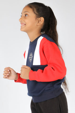 (M/K) INTERNATIONAL  BRAND  Girl's Sweat Shirt (4328563998852)