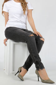 (O/S) INTERNATIONAL BRAND DENIM WOMEN JEANS (4377152323716)