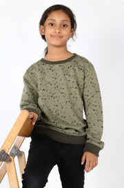 (M/K) INTERNATIONAL BRAND Girl's Sweat Shirt (4327490650244)