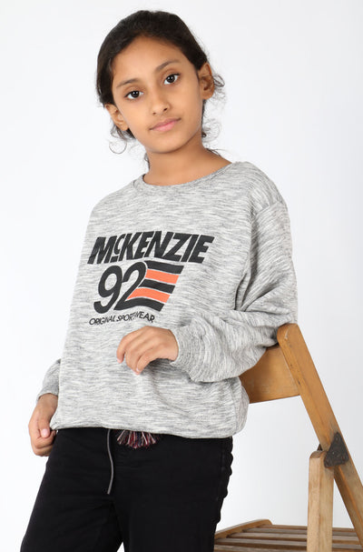 (M/K) INTERNATIONAL  BRAND Girl's Sweat Shirt (4253379788932)