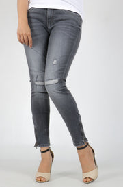 (O/S) INTERNATIONAL BRAND  DENIM WOMEN JEANS (4377153405060)