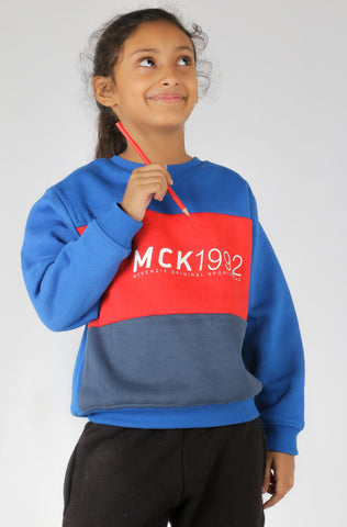 (M/K) INTERNATIONAL BRAND Girl's Sweat Shirt (4354042921092)