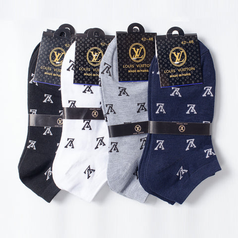 Louis Vuitton (LV)  SOCKS (1PAIR)