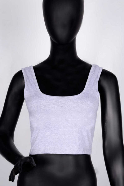 P/B Women's Cropped Tank Top (6020914938010)