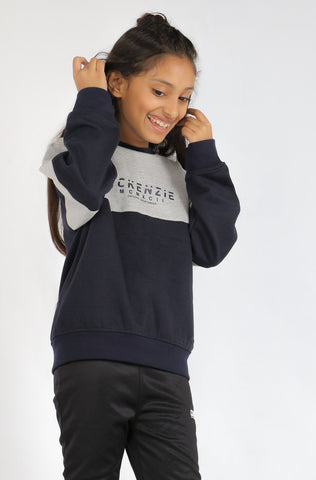(M/K) INTERNATIONAL  BRAND girls's Sweat Shirt (4372764360836)