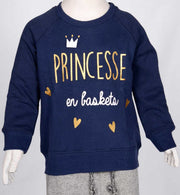 Copy of MANGO KIDS SWEATSHIRT (PRINCESS) (5898927308954)