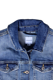 Cre-eks International Women's Denim Jacket (5809797857434)
