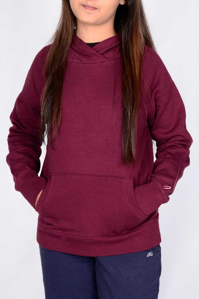 League Women's Plain Hoodie (5918967201946)