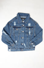 Load image into Gallery viewer, (S/I) INTERNATIONAL BRAND   DENIM  GIRLS JACKET (4401662886020)