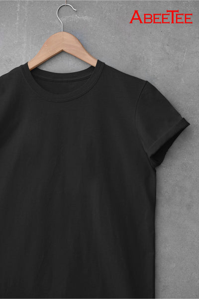 MEN'S PLAIN T-SHIRT (5437463920794)
