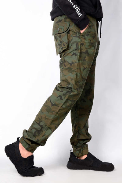 Brshka Men's Camo Cargo Pants (C-5) (5904267870362)