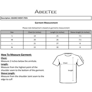 SOURCE MEN'S TEE SHIRTS (2197686550626)