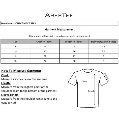 SOURCE MEN'S TEE SHIRTS (2200699895906)