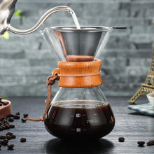 Load image into Gallery viewer, Glass Coffee Maker