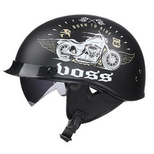 Load image into Gallery viewer, Vintage Motorcycle Helmet