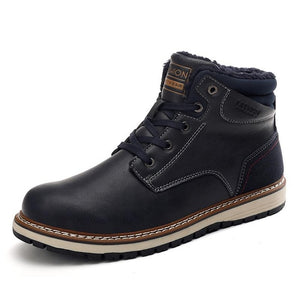 Winter Men's Leather Boots