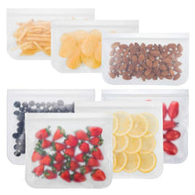 Load image into Gallery viewer, Zip Bag Silicone Food Containers